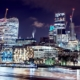 Acclaro Advisory - Optimising Energy Performance in Buildings - Part One - Image 1 - London city buildings at night